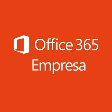 Microsoft Office 365 Empresa, 1 año (Español) (5x PC/MAC)