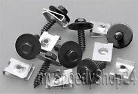 20 tlg Blechmutter Schrauben Radhausschale Unterboden Clips für BMW MERCEDES