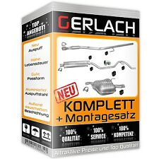 Auspuff Opel Vectra C 1.6 1.8 16V Schrägheck Stufenheck Auspuffanlage *3088