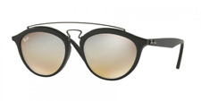 Ray Ban Gatsby II Sunglasses RB 4257 c. 6253/B8 Matte Black Silver Mirror 50mm