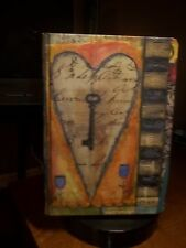 "LANG KEY 6"" X 8.25"" TO MY HEART 192 LINED RULED PAGES ART WORK BY LISA KAUS"