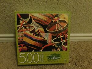 New in box Cardinal Gallery Baskets 500 piece jigsaw puzzle