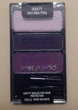 "WET N WILD -Color Icon Eyeshadow Trio - 34271 -"" Zero Dark Flirty""-Sealed"