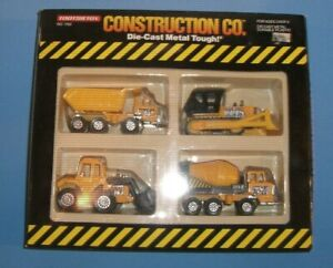 Tootsie Toy 1990 Construction Play Set  #1763