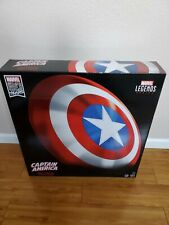 "Marvel Legends Captain America Shield 80th Anniversary Authentic 24"" Shield"