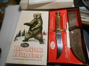Nice Case XX Kodiak Hunter Fixed Blade Knife Sheath & Box