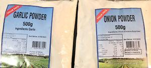 Garlic Powder 500g And Onion Powder 500g Combo Bulk Buy