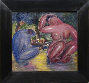 Das Paar. Expressionismus.