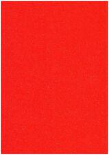 Pack de 20 hojas rojo A4 Stardust Purpurina Papel Manualidades RESPLANDECIENTE