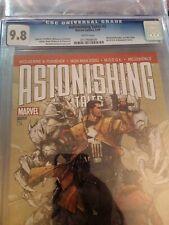 Astonishing Tales 2 CGC 9.8 Marvel  2009 Wolverine Iron Man