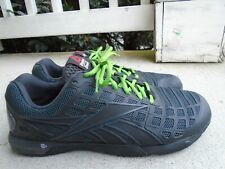 Reebok Mens CrossFit CF 74 M47669 Black Training Sneakers Shoes Lace Up Size 10
