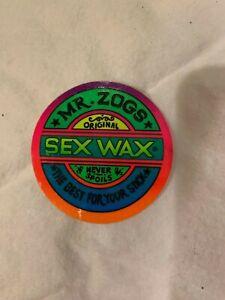Vintage SexWax sticker