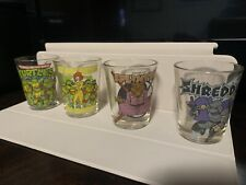 Teenage Mutant Ninja  Turtles Shot Glasses Lot of 4