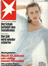 Magazin STERN  Nr 30 v. 1975, Mode - Flatterkleider; Ferien 1975; Kunst aus Gips