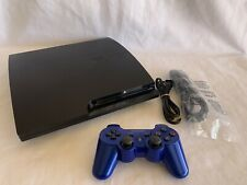 Sony PlayStation PS3 Slim 160GB Console Bundle—All Cords and Dualshock 3—Tested