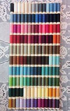 140 NEW Different colors GUTERMANN 100% polyester sew-all thread 110 yd spools