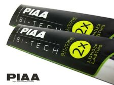 Piaa SI-Tech Frente wiper blades set-Silicona, más duradero/600mm; 475mm
