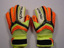 Reusch Soccer Goalie Gloves  PULSE Pro G2 Ortho Tec Finger Stays 3670100S SZ 9