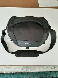 Sony Soft Carrying Shoulder (Black) Camera Bag LSC-U21