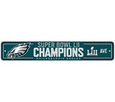 Philadephia Eagles - 2018 Super Bowl Champs Street Sign  Official NFL Item