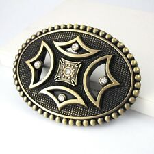 Vintage Gold Alloy Celtic Four Season Iron Cross Belt Buckle + FREE GIFT BOX
