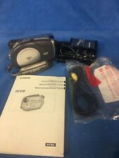 CANON DVD Camcorder DC210 With Battery & Charger
