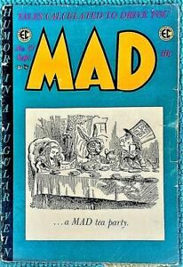 MAD #15 Sept 1954! VG/VG+! 4.0/4.5! .99 Start! SOLID! TIGHT! CLEAN! It's an EC!