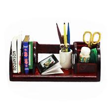 1zu12 Puppenstube Schreibtisch Zubehör Set 1:12 Miniatur Schreibtisch Stifte