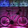 20LED Pink Motorcycle Cycling Bike Bicycle Wheels Spoke Flash Light Lamp