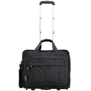 Knirps Laptop Tasche Trolley Notebooktasche Piloten Koffer Rollen Laptoptrolley