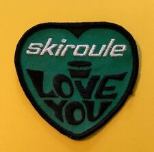 Vintage Skiroule Patch Snowmobile 233S