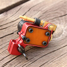 Rotary Tattoo Machine Gun Brass Frame Japan Motor (red)
