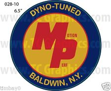 Motion Performance Dyno-Tuned MP decal one 6 1/2""