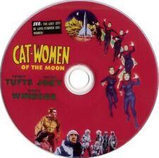 Cat-Women of the Moon (1953 cult sci-fi film Dvd) Mod Dvd disc only