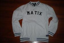 Men's Matix x Brandon Biebel Signature White Striped Jacket (XX-Large)