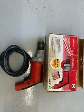 "Milwaukee 0302-20 Heavy Duty 1/2"" Corded Drill"
