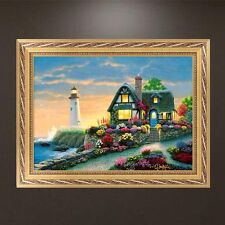 DIY 5D Diamond Embroidery Painting Garden House Cross Stitch Craft Home Decor
