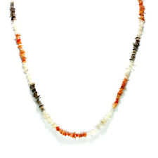 Tibetan Nepalese Mixed Stone Beads Necklace Artisan Handcrafted Jewelry 103F