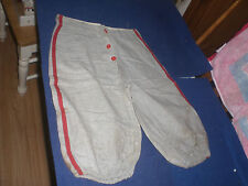 "Vintage Youth Baseball Pants 19"" Tall RARE"