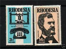 Rhodesia 1976 Telephone Centenary SG524/5 MNH