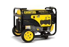 100157R - 3500/4375w Champion Generator, manual start - REFURBISHED