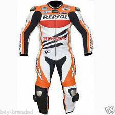 HONDA REPSOL Motorcycle Leather Suit Racing Sports Leather Suit CE Pads