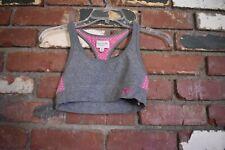 Gilly hicks gray pink sports bra size XS
