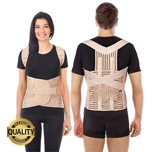 Adjustable Full Back Posture Corrector Brace - for Men and Women - All Sizes