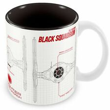 Star Wars -  Episode VII - Blueprint Black Squadron Mug - New
