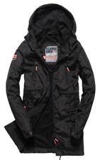 Superdry Damen Mantel Jacke Coat Jacket Gr.XS (DE 34) Sport Elite Schwarz 85268