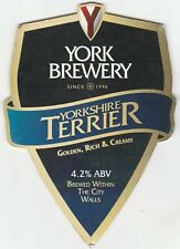 YORK BREWERY - YORKSHIRE TERRIER - PUMP CLIP FRONT
