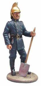 Eaglemoss Firefighter Figure - British Fireman - Fire Dress London 1890 - BOM006