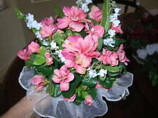 BRIDAL BOUQUET'S-ARRANGEMENTS **FLORAL OR ROSE'S ELEGANT **Handmade