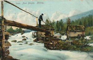 VOSS - Voss Near Bergen - Norway - udb - mailed 1909